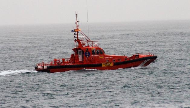 Una de les embarcacions de salvament marítim.