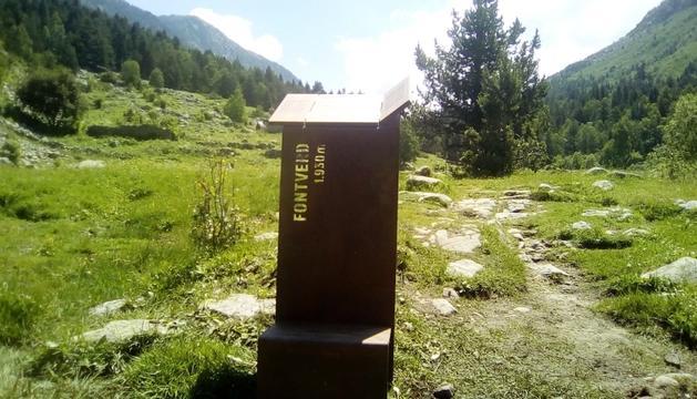 Senyalització interpretativa per conèixer la vall.