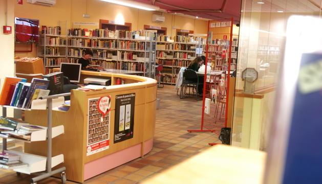 La biblioteca romandrà tancada fins a l'agost.