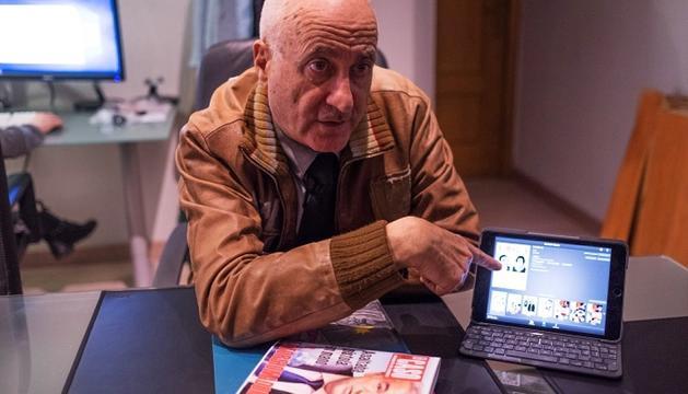 El periodista almerienc Joaquín Abad, autor d''El andorrano'.