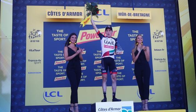 Dan Martin es va adjudicar la sisena etapa del Tour.