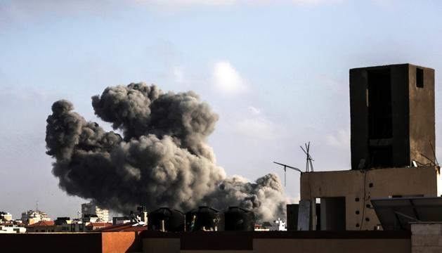 Efectes dels atacs israelians a Gaza.