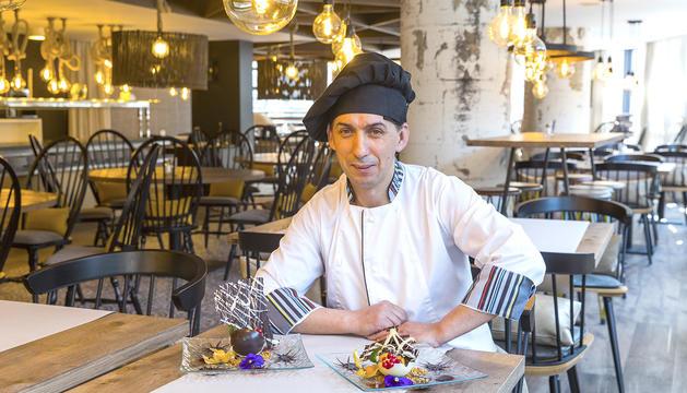 Paulo Sergio Freitas, xef del restaurant de l'Hotel Centric Atiram