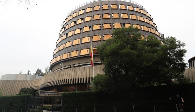 La façana del Tribunal Constitucional, a Madrid.