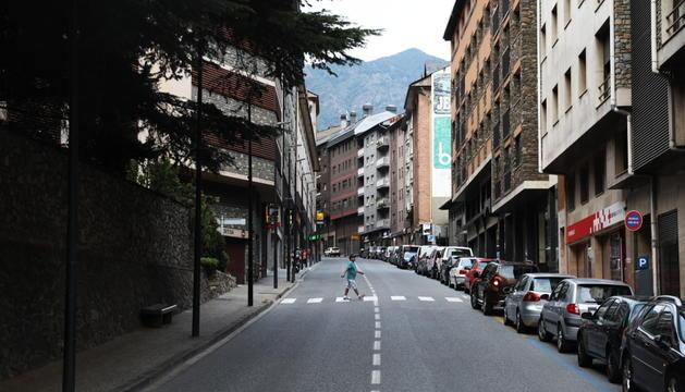 Els fets es van produir a l'avinguda SantaColoma.