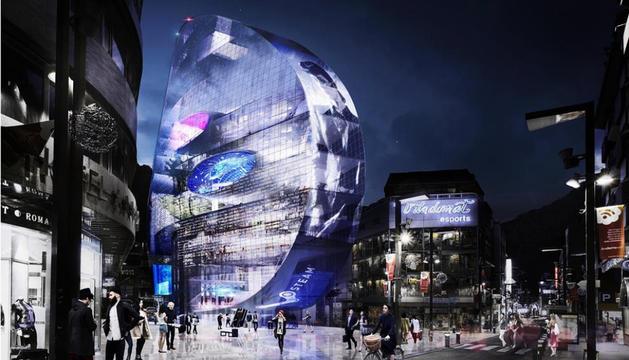 L'obra singular projectada a l'avinguda Meritxell es va anunciar l'any 2014.