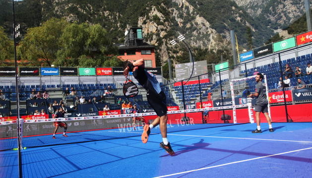 Un moment de l'edició passada del World Padel Tour.