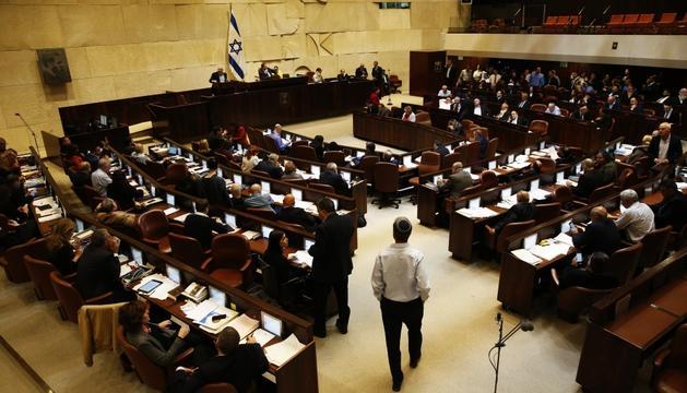 El parlament d'Israel va donar ahir llum verd a la proposta.