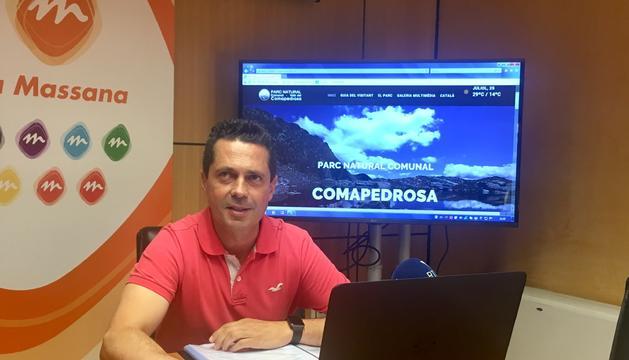 EL conseller de Medi Ambient, Agricultura i Sostenibilitat, Sergi Gueimonde