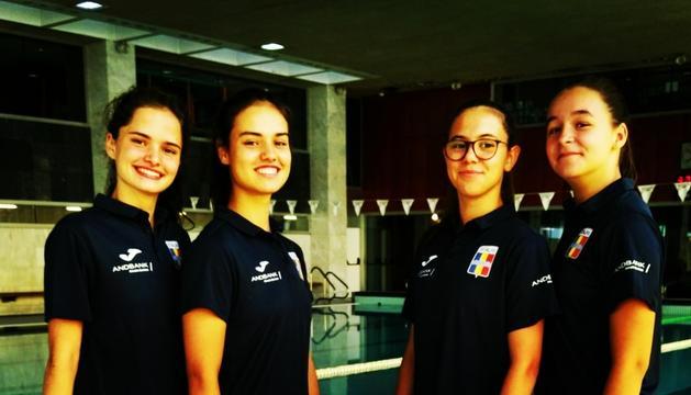 Quatre andorranes, a la Mediterranean Cup 2018