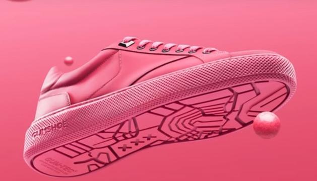 El primer calçat fet a base de xiclets