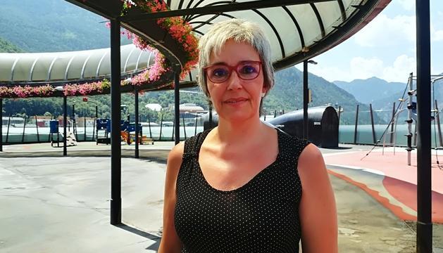 Montserrat Neras és una de les dues representants dels assalariats a la CASS.