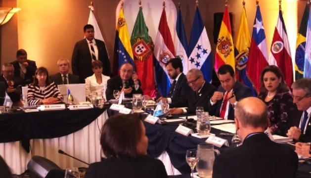Reunió dels ministres d'Administració Pública a Guatemala.