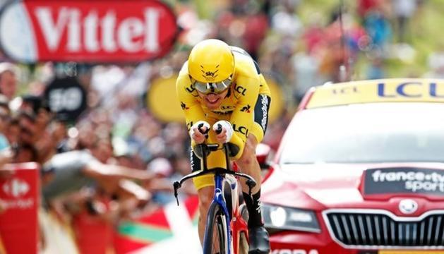 Geraint Thomas serà proclamat avui guanyador del Tour.