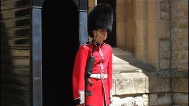 Empenta de la guàrdia reial