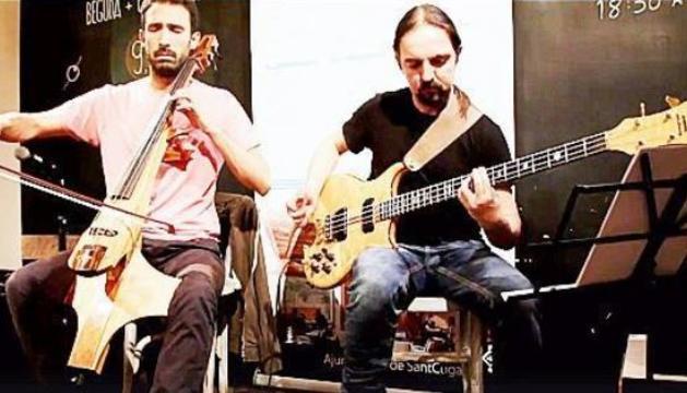 El duo Jordi Claret & Landry Riba