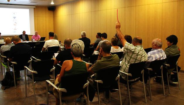 Subhastadel comú  que s'ha fet al Centre de Congressos d'Andorra la Vella