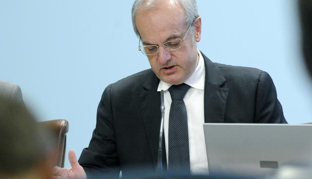 El ministre de Salut a la roda de premsa posterior al Consell de Ministres