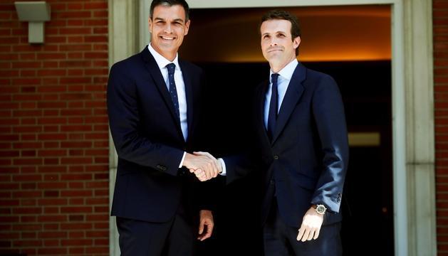 L''efecte Moncloa' catapulta el PSOE prop de 10 punts per sobre de PP i Cs