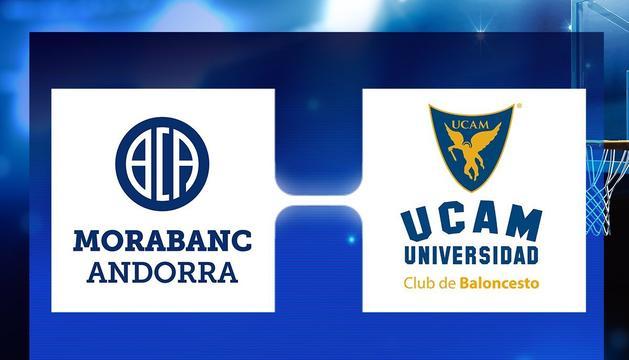 El MoraBanc iniciarà la lliga a casa contra l'UCAM Múrcia