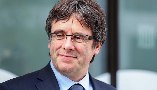 El president Puigdemont es troba exiliat a Bèlgica.