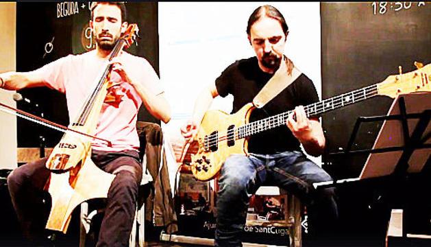 Fusió del violoncel i el baix elèctric