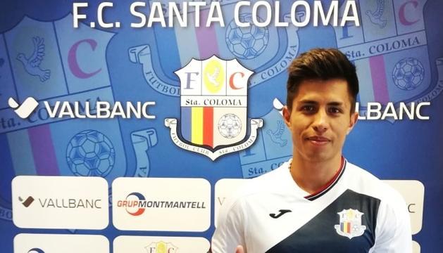 El Vall Banc FC Santa Coloma fitxa Diego Nágera