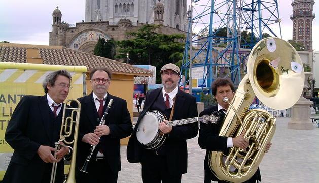 La banda de jazz Sandyriverdixie