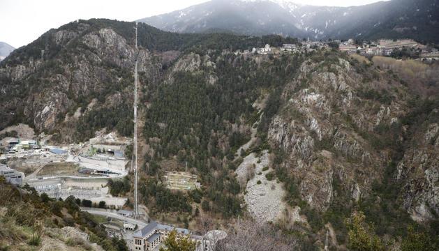 La zona de les Tresoles està més a prop d'acollir l'heliport.