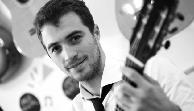 El guitarrista clàssic David Font.