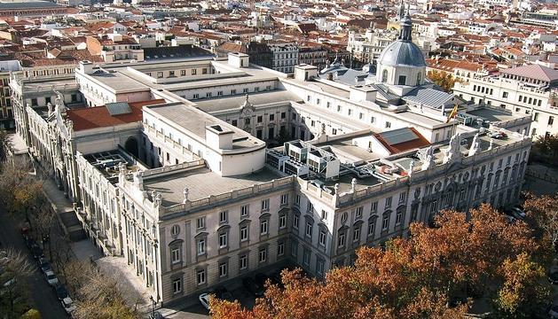 La seu del Tribunal Suprem, a Madrid.