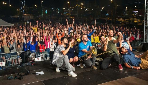 Concert de Els Catarres el mes passat a Escaldes-Engordany, al carrer dels Veedors.