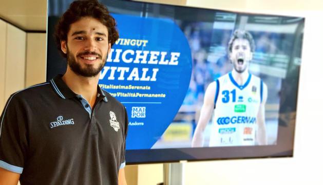 El MoraBanc Andorra ha presentat Michele Vitali