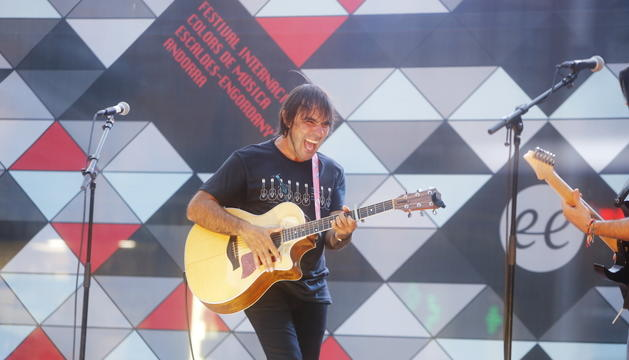 Patxi Leiva torna a cantar a Andorra