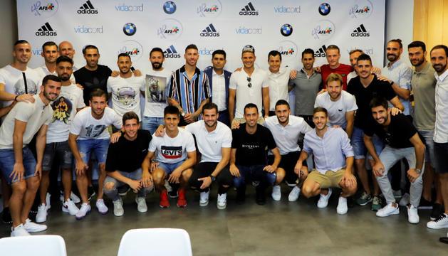 Els capitans dels equips de primera divisió van reunir-se ahir a Madrid.