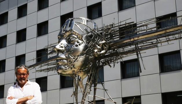 Escultures d'acer a Escaldes