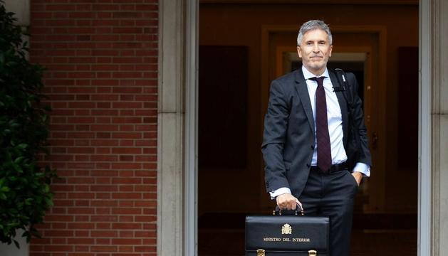 El ministre de l'Interior Grande Marlaska ha decidit les destitucions.