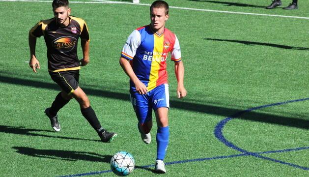 L'FC Andorra no va tenir un bon inici de campionat.