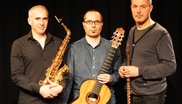 Rythmic Trio, a Sant Romà de les Bons