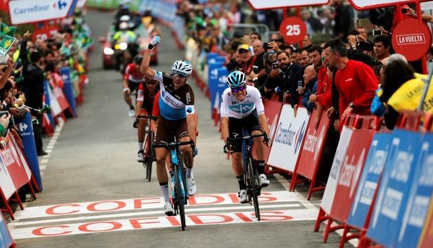 Alexandre Geniez es va adjudicar la dotzena etapa de la Vuelta a Espanya.