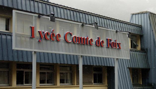 Edifici del Lycée Comte de Foix a Andorra la Vella.