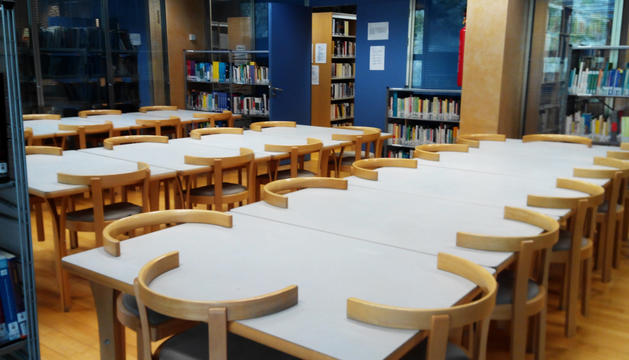 Sala de la biblioteca laurediana.