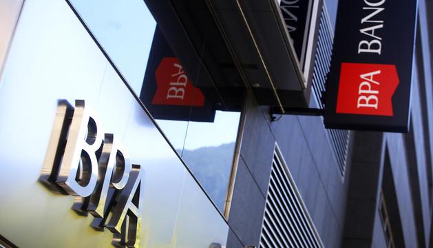 Façana de l'antiga Banca Privada d'Andorra.