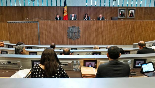 Sessió ordinària del Consell General, aquest matí