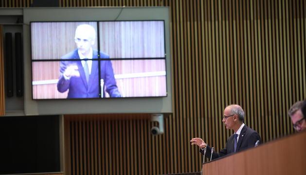 Toni Martí pronuncia aquest matí l'últim discurs en un Debat d'Orientació