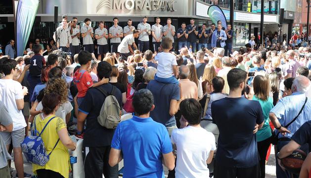 200 persones, a la presentació del Morabanc a Meritxell