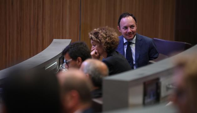 El ministre Xavier Espot al Consell General