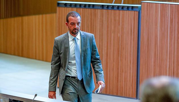 El ministre d'Ordenament Territorial, Jordi Torres, al Consell General