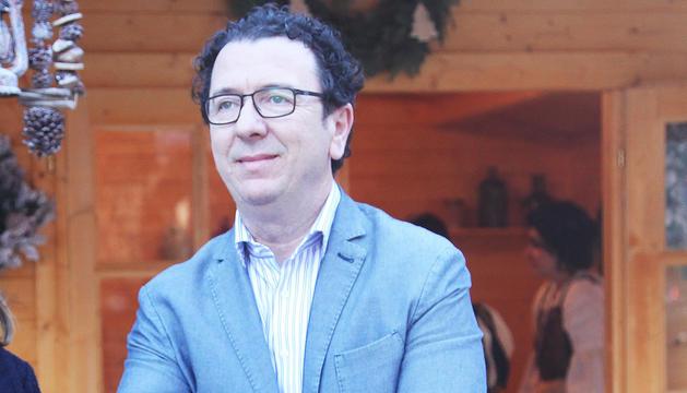 El gerent d'Andorra Turisme, Betim Budzaku