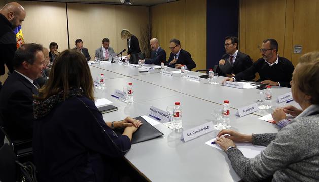 Primera reunió de la Comissió Nacional de l'Habitatge